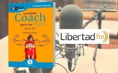 La autora habla de coaching para niños en 'Crecer', programa de Libertad FM
